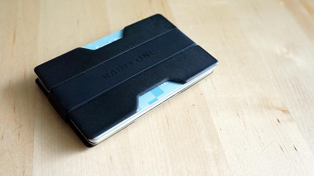 Radix One Slim Wallet project video thumbnail