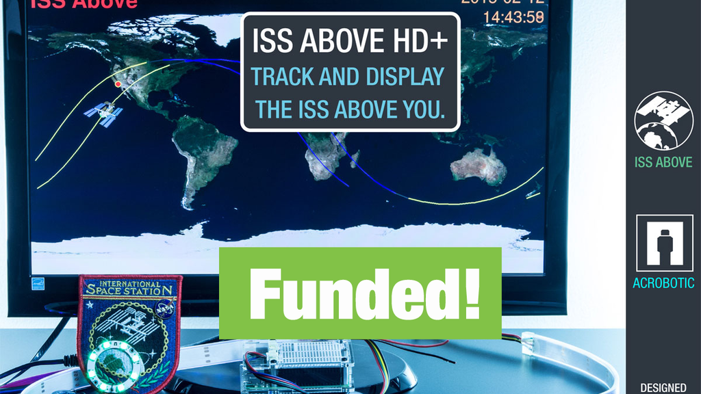 ISS Above HD+ with Wearable Bluetooth Low Energy LEDs project video thumbnail