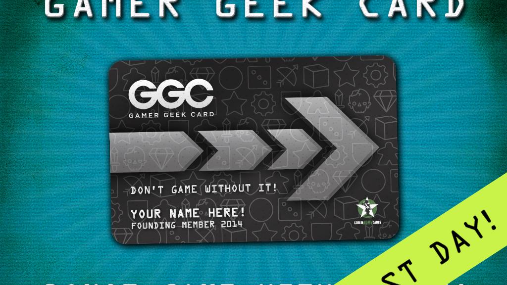 Gamer Geek Card project video thumbnail