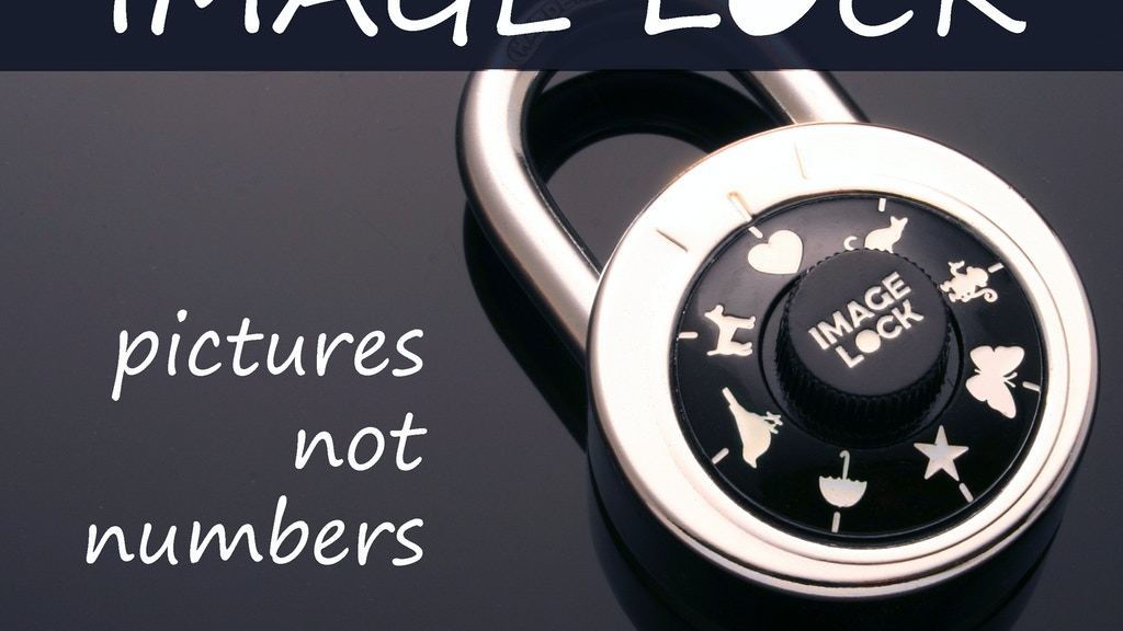 Image Lock - Fun, Easy to Remember Combination Lock project video thumbnail