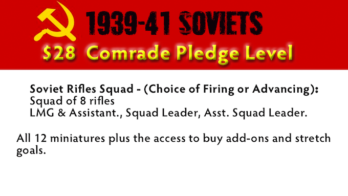 Comrade Pledge Level