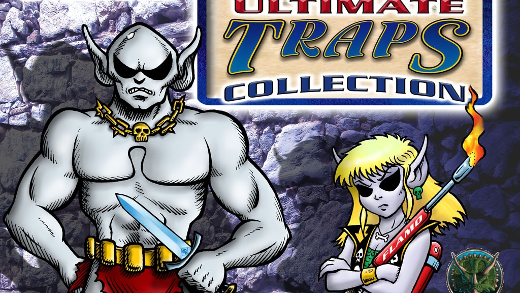 Grimtooth's Ultimate Traps Collection project video thumbnail