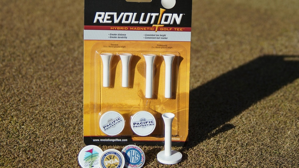 Revolution Hybrid Magnetic Golf Tee - Tee / Ball Marker project video thumbnail