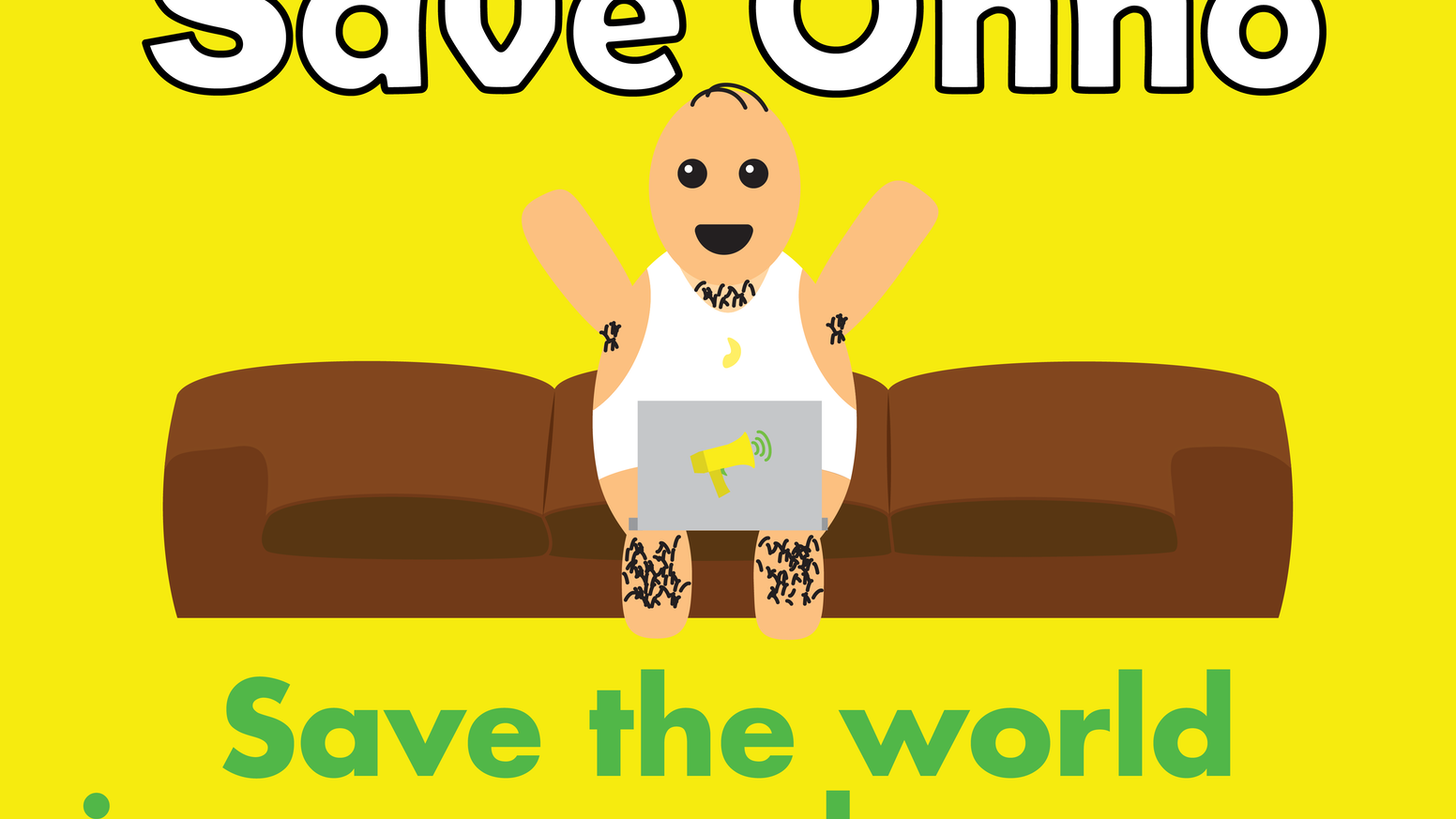 Start and support climate change campaigns and see the benefits on Ohno's life through this gamified platform.