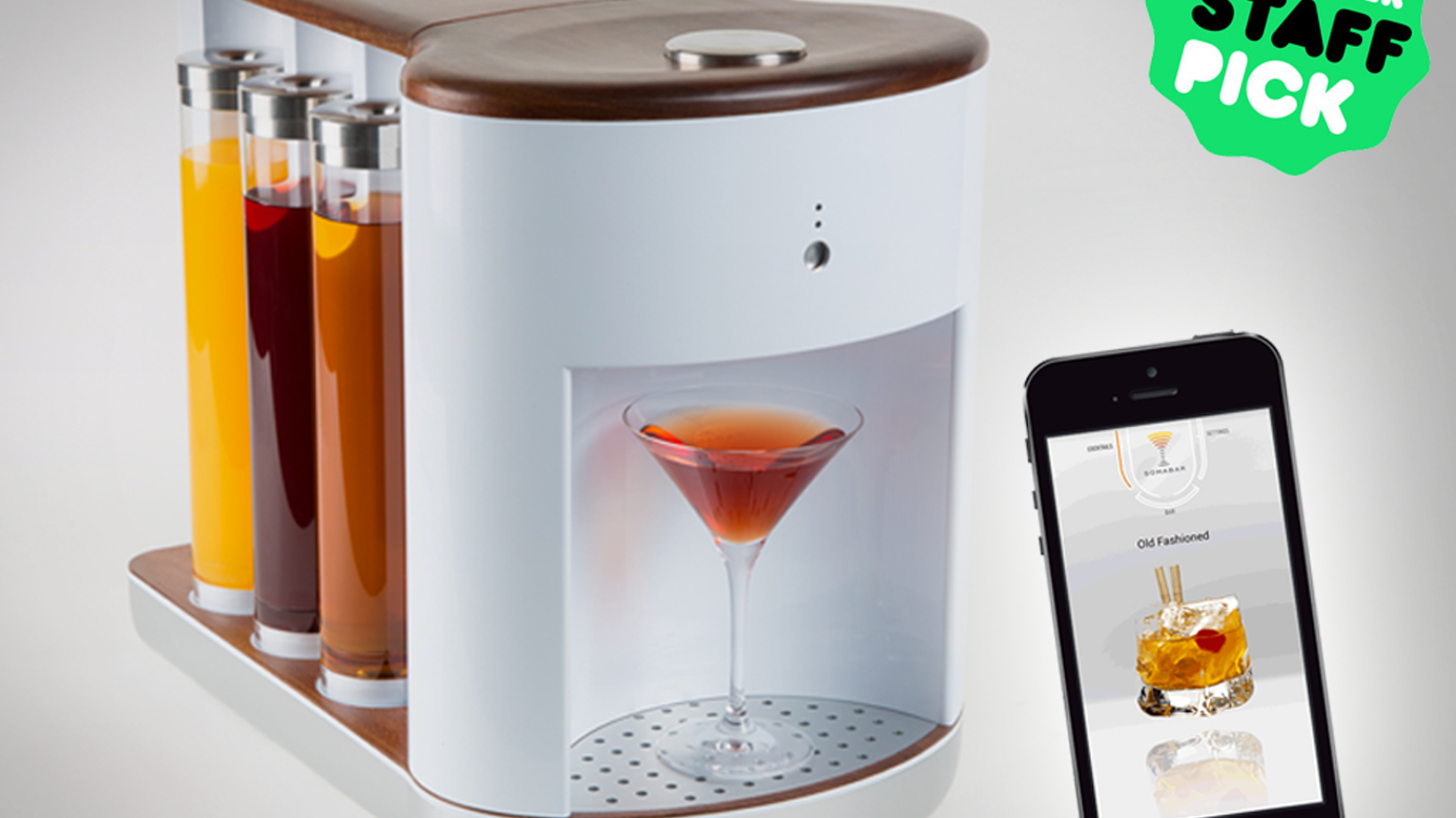 Somabar: Robotic Bartender for your Home by Somabar — Kickstarter