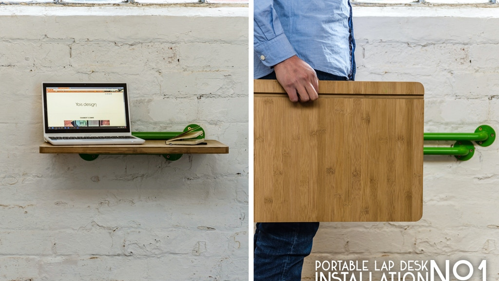 Portable Lap Desk Installation No.1: A desk and more. project video thumbnail