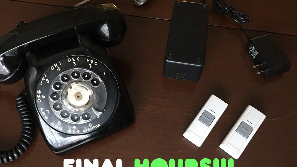 Doorbell Phone - a Rotary Phone Doorbell project video thumbnail