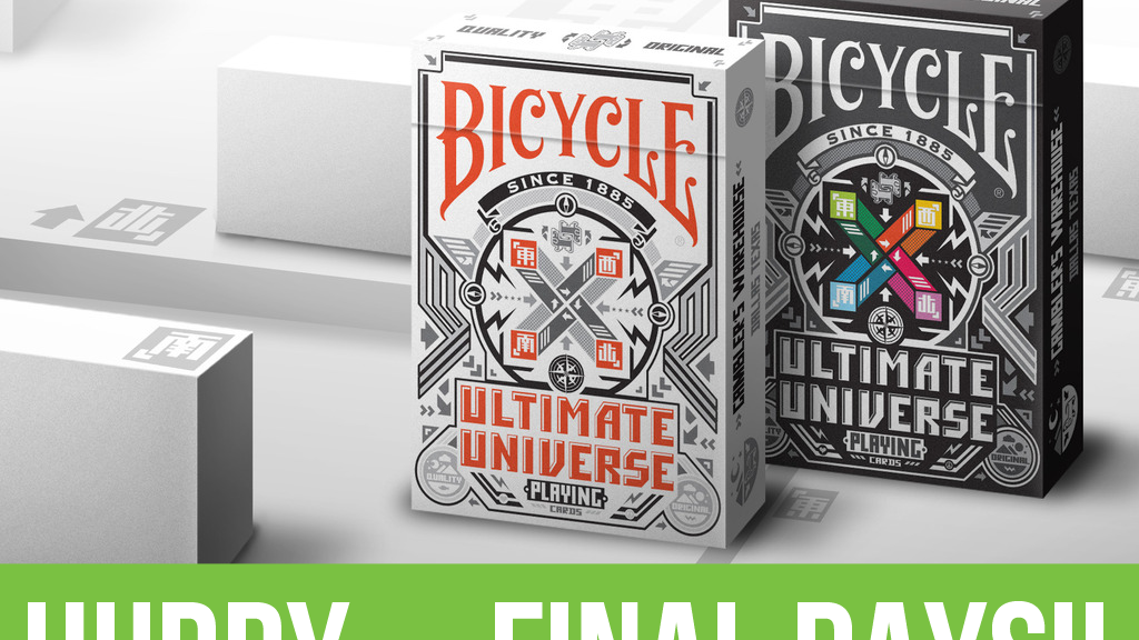 Bicycle Ultimate Universe Playing Cards project video thumbnail