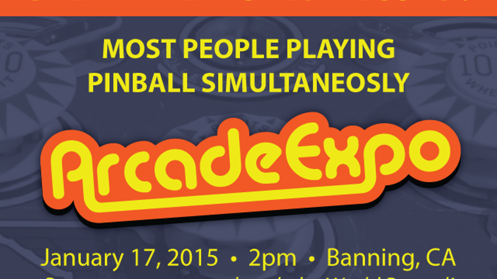 NEW WORLD RECORD: Most People Playing PINBALL Simultaneously project video thumbnail