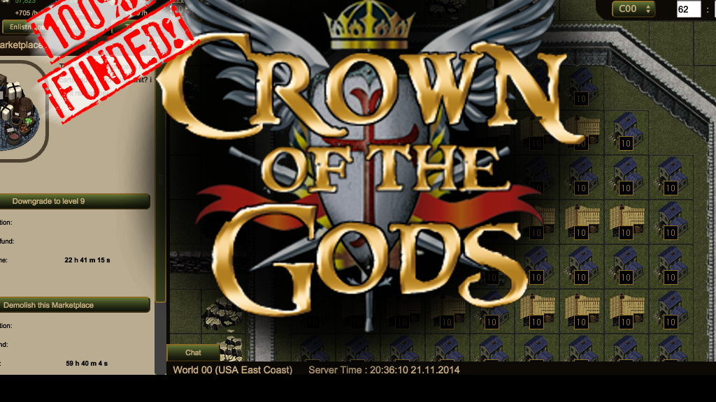 Crown of the Gods project video thumbnail