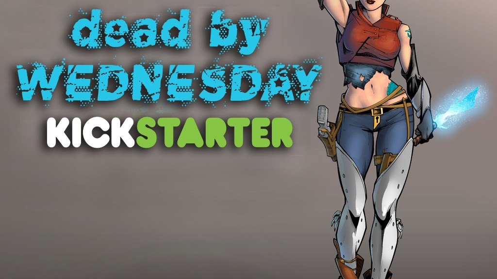 Dead by Wednesday: A new breed of space bounty hunter comic project video thumbnail