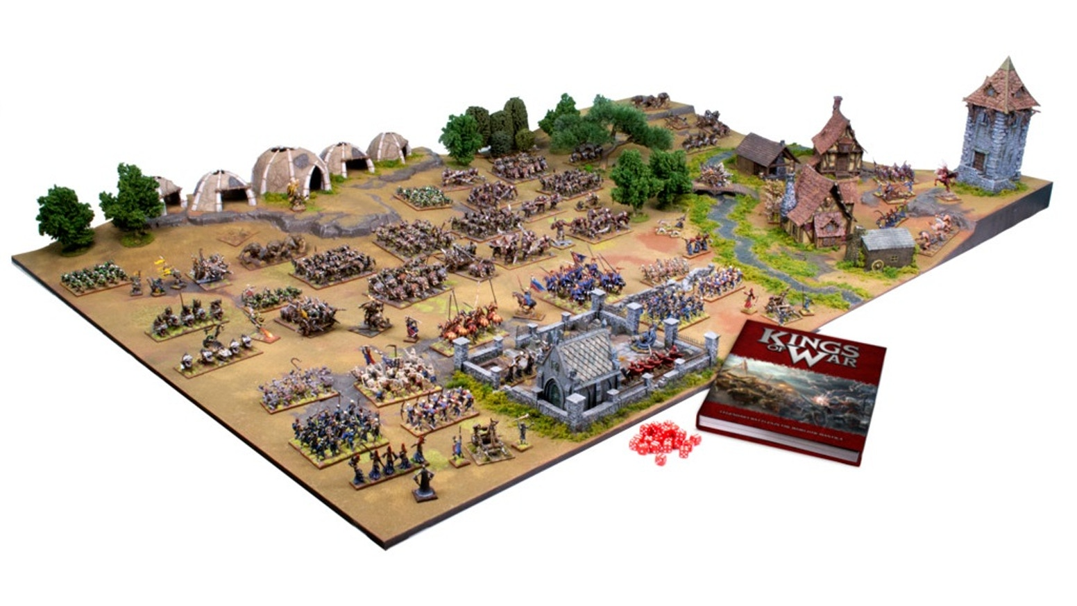 Kings of War is the 2-player fantasy miniatures game where epic armies clash on tabletop!