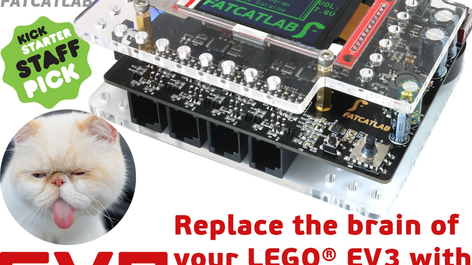 EVB: Replace the brain of your LEGO® EV3 with BeagleBone by