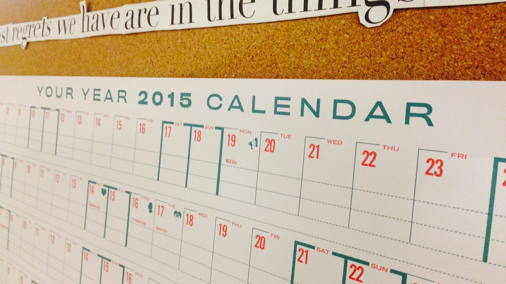 The Your Year 2015 Calendar! project video thumbnail
