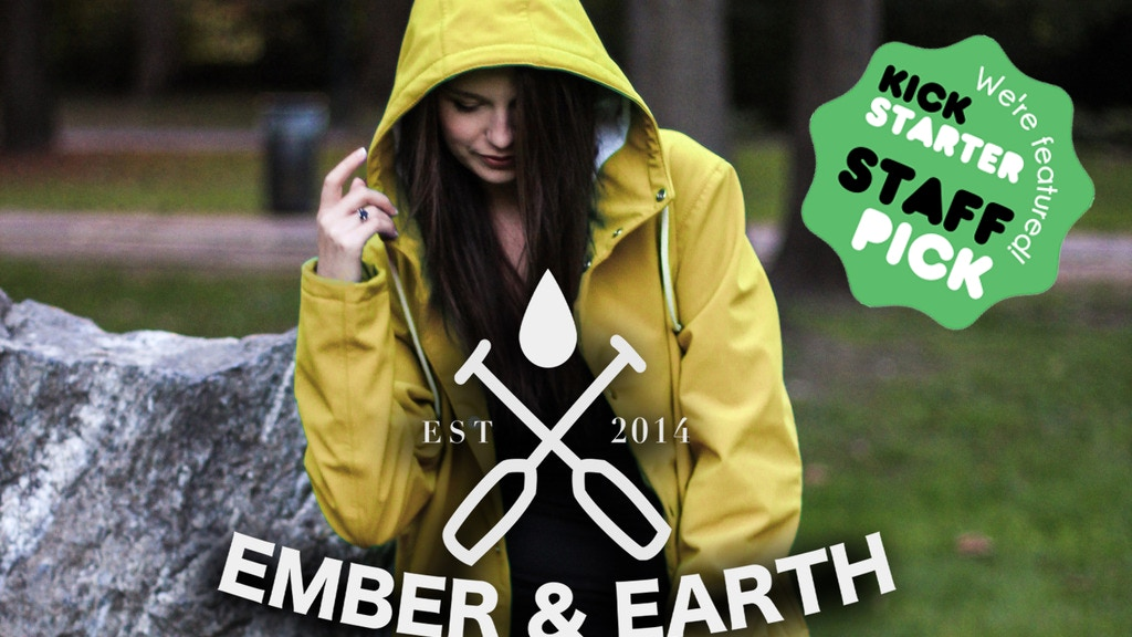 Ember&Earth | Classic Fishermen's Rain jackets reimagined project video thumbnail