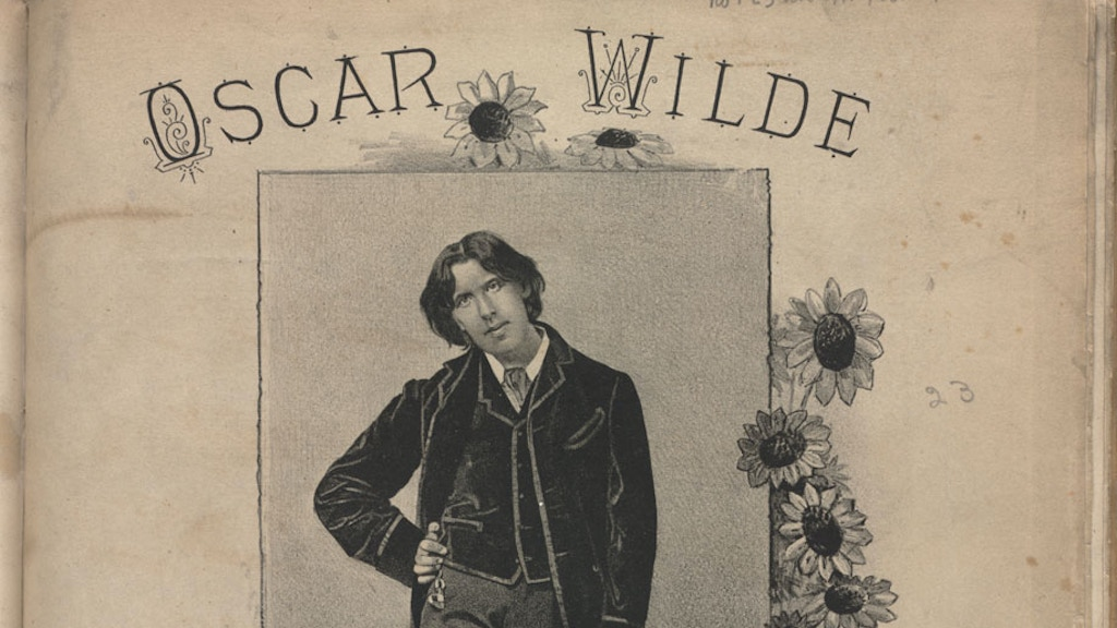 Des Grieux: Oscar Wilde's 'Other' Suppressed Novel project video thumbnail