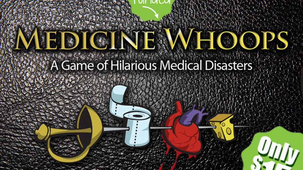 Medicine Whoops project video thumbnail