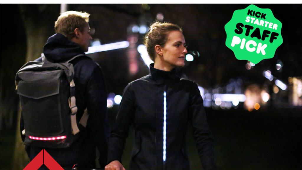LUMO - Be seen. City cycling apparel. project video thumbnail