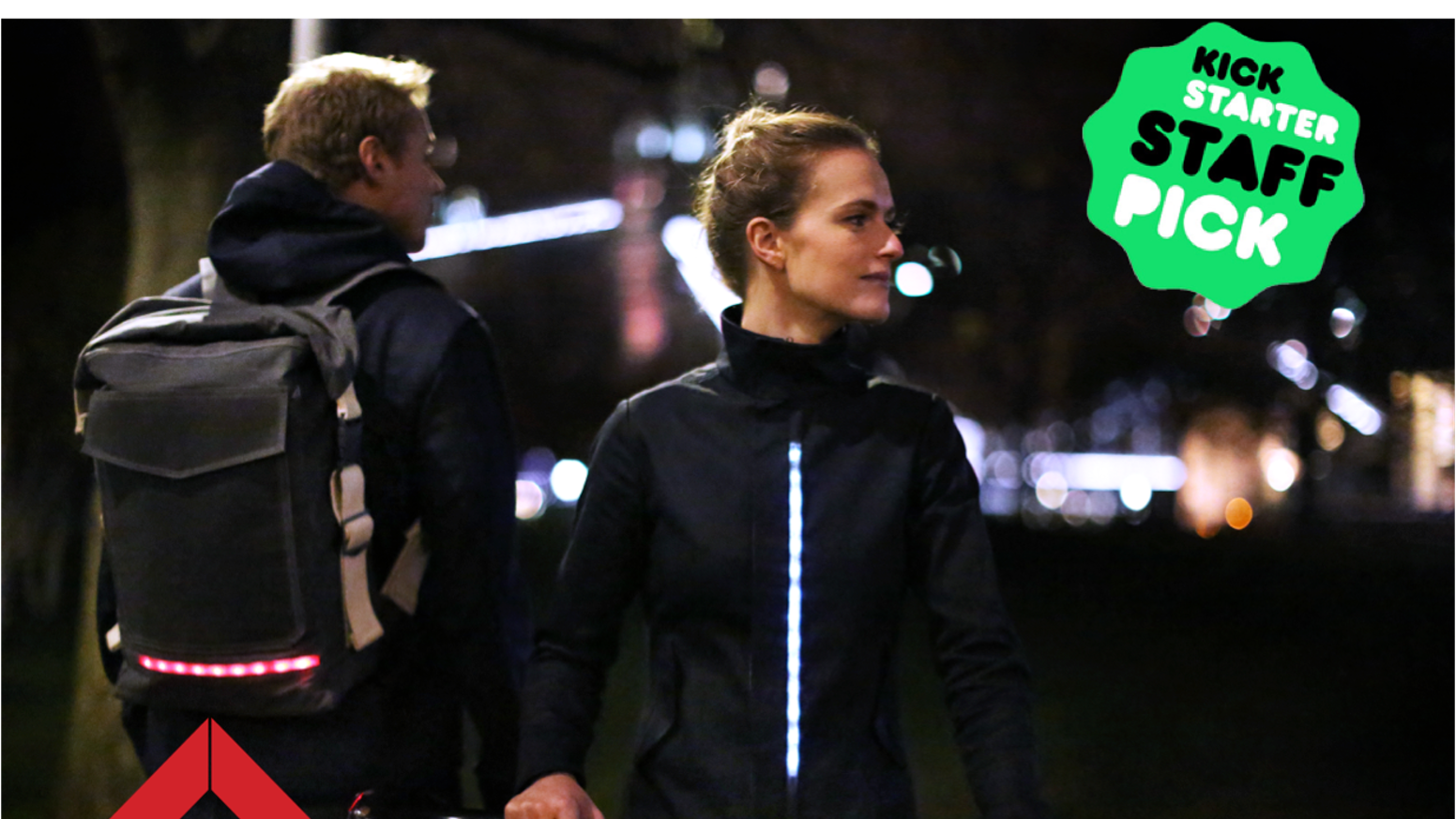 LUMO is a new range of beautifully designed LUMO city cycling jackets and bags with in-built LED lights. Crafted for style, visibility and comfort on the bike.