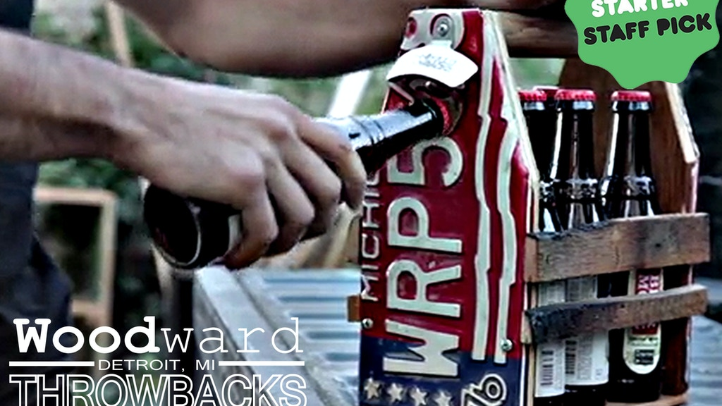 Woodward Throwbacks - Reclaimed Woodworking Detroit project video thumbnail