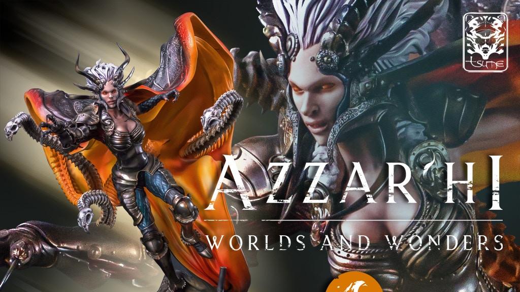 Tsume x Aleksi Briclot: Azzar'Hi Worlds & Wonders HQS statue project video thumbnail
