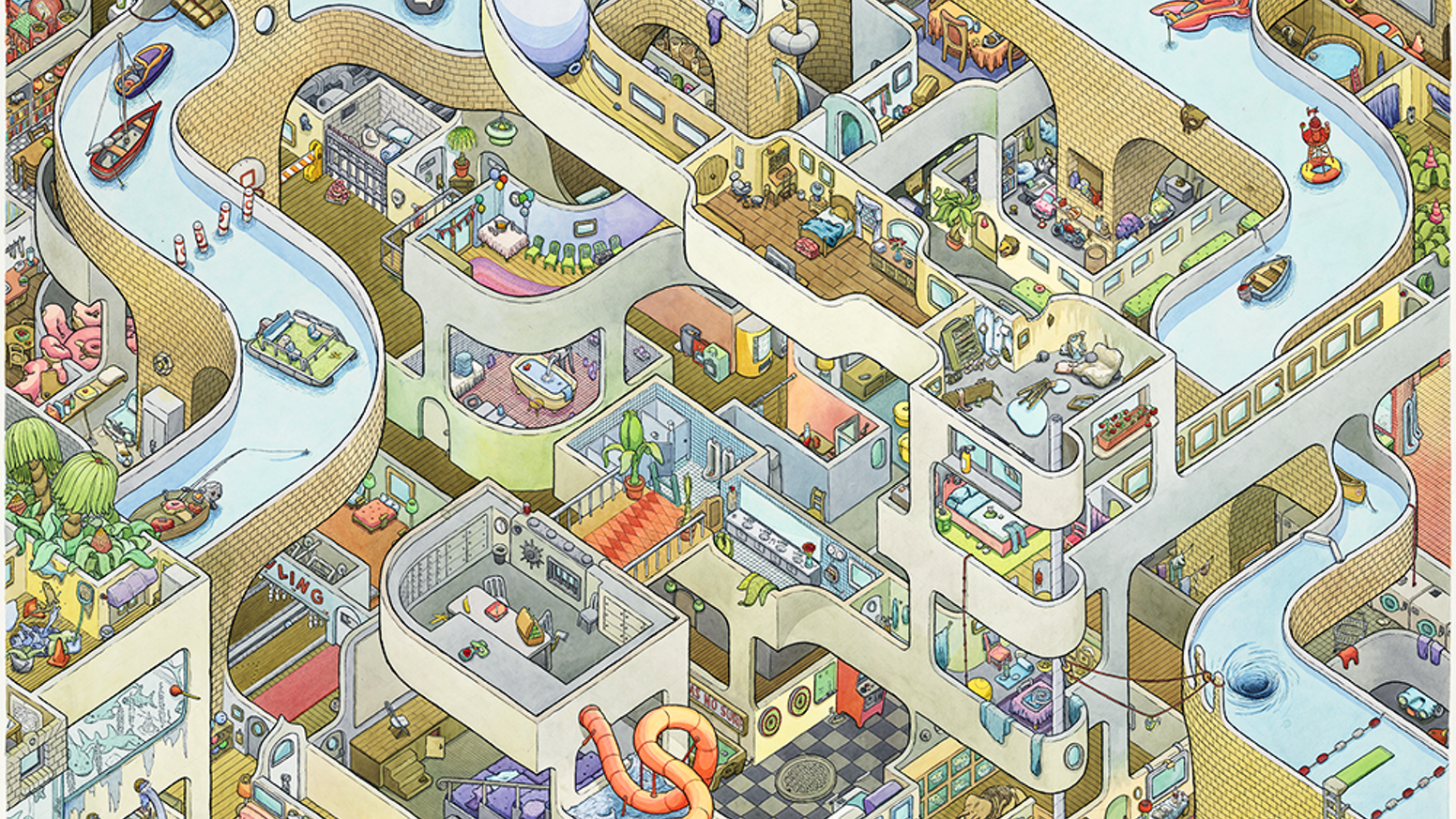 Thanks to all of my backers - BIG CANAL was a huge success. I'm now working on the next phase: BIG HOSPITAL! I plan to launch it on or before May 1, 2015.