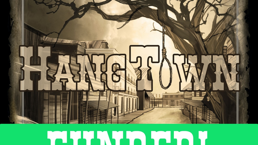 Hangtown the Board Game project video thumbnail