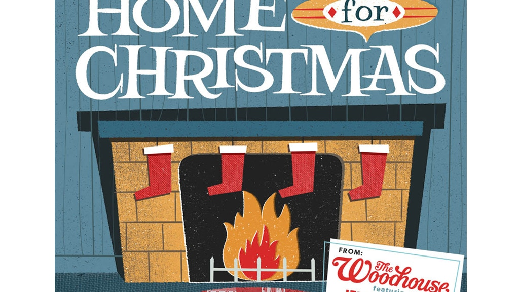 """""""Home For Christmas"""" by The Woodhouse project video thumbnail"""