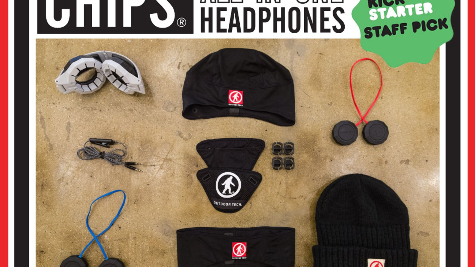 CHIPS®: The Hi-Fi ALL-IN-ONE Headphones that adapt to work with your active lifestyle, no matter what you are up to.