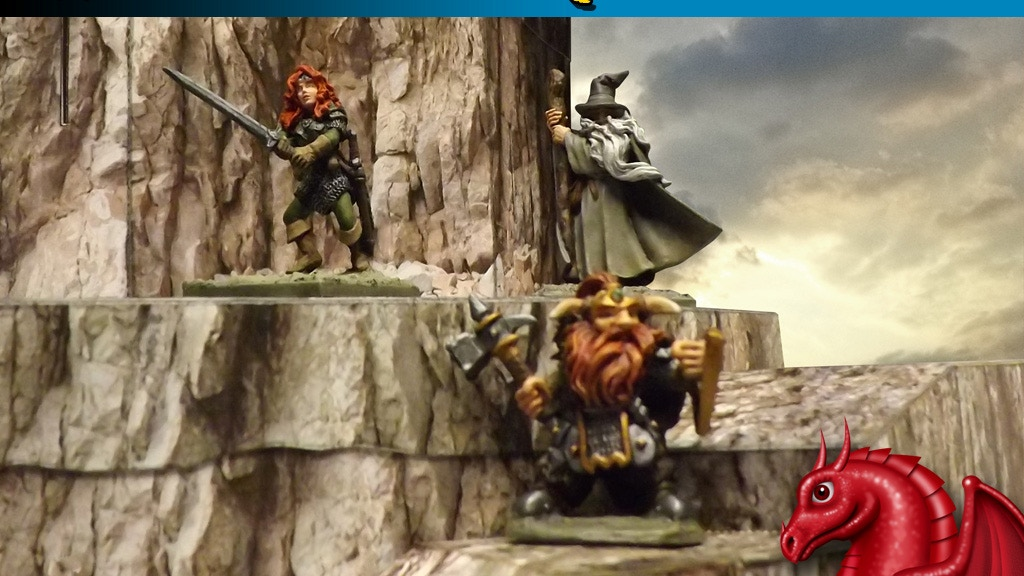 WILDERNESS ADVENTURES 28mm Scale Fantasy Gaming Terrain project video thumbnail