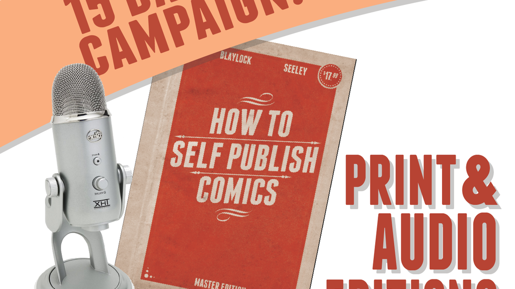 How to Self-Publish Comics: Not Just Create Them project video thumbnail