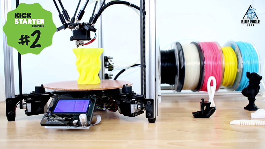 The Metal Delta – Build Your Own Metal Delta Printer! project video thumbnail
