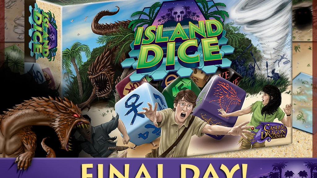 Island Dice - A Strategy Game of Dice Selection project video thumbnail