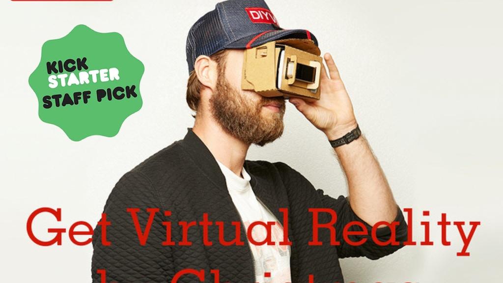 DIY Virtual Reality Open Source Future project video thumbnail