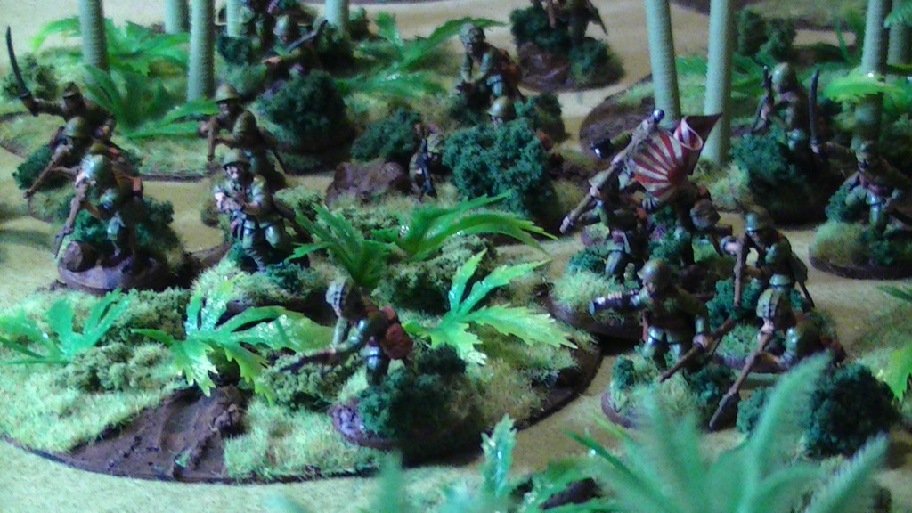 Project image for 28mm Wargame Jungle Terrain Trees for Bolt Action, etc