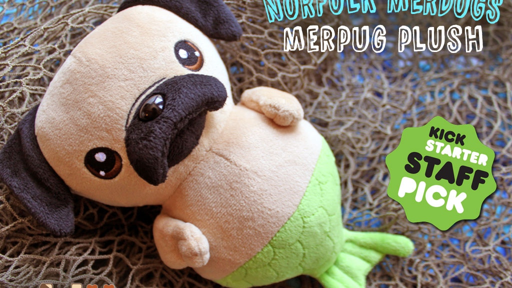 Norfolk Merdogs: Merpug Cute Plush Toys project video thumbnail