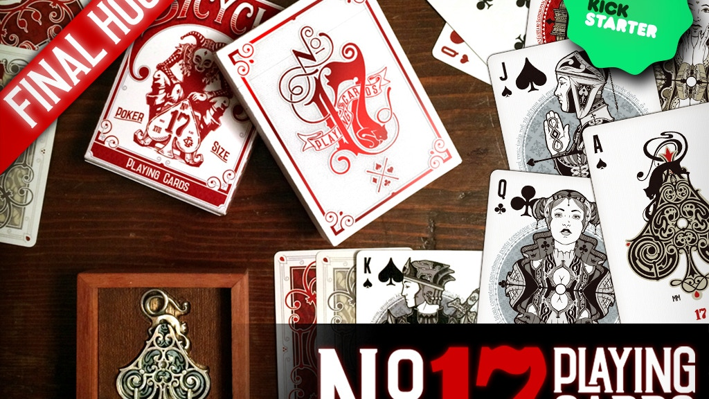 No.17 Playing Cards -  Bicycle® branded project video thumbnail