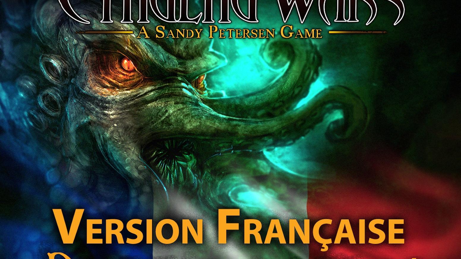 Cthulhu Wars est le jeu de stratégie, tiré de l'oeuvre de Lovecraft, par Sandy Petersen, le père du Jeu de Rôle l'Appel de Cthulhu