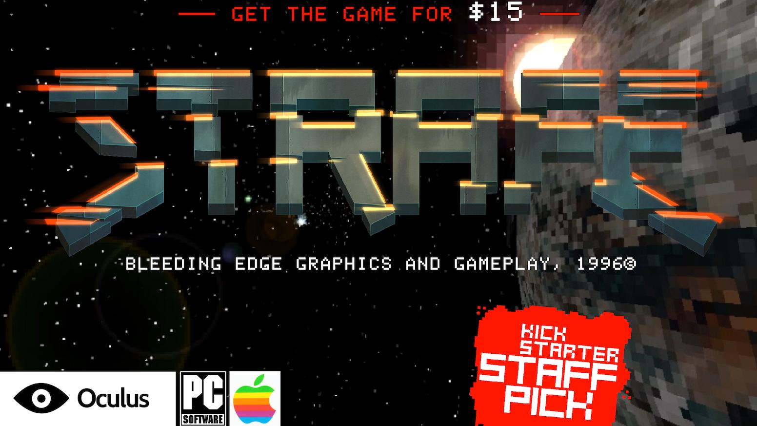 8d54d042b0f STRAFE® by Pixel Titans — Kickstarter