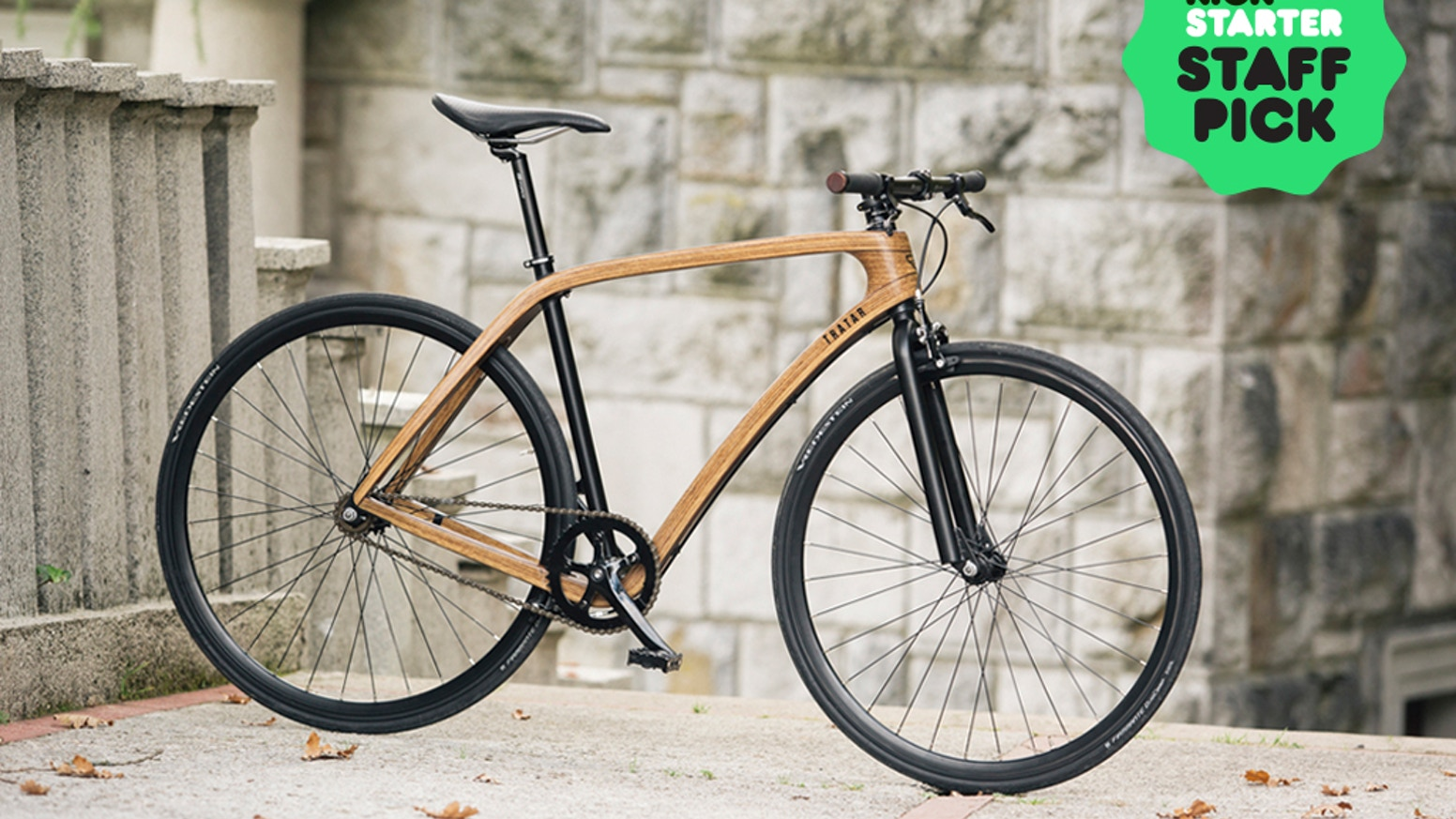 were not just about making bikes were about creating a handmade - Wooden Bike Frame