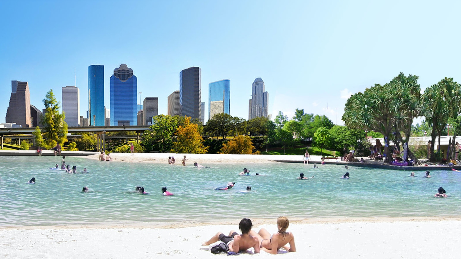 Let S Build A Giant Natural Swimming Hole In Houston