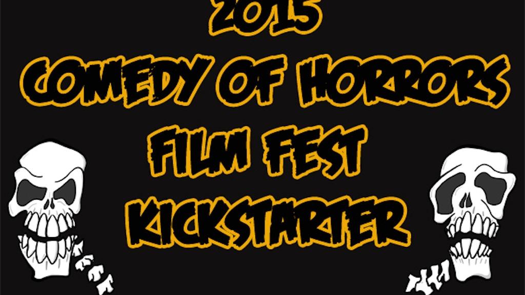 "BoneBat ""Comedy of Horrors"" Film Festival 2015 project video thumbnail"