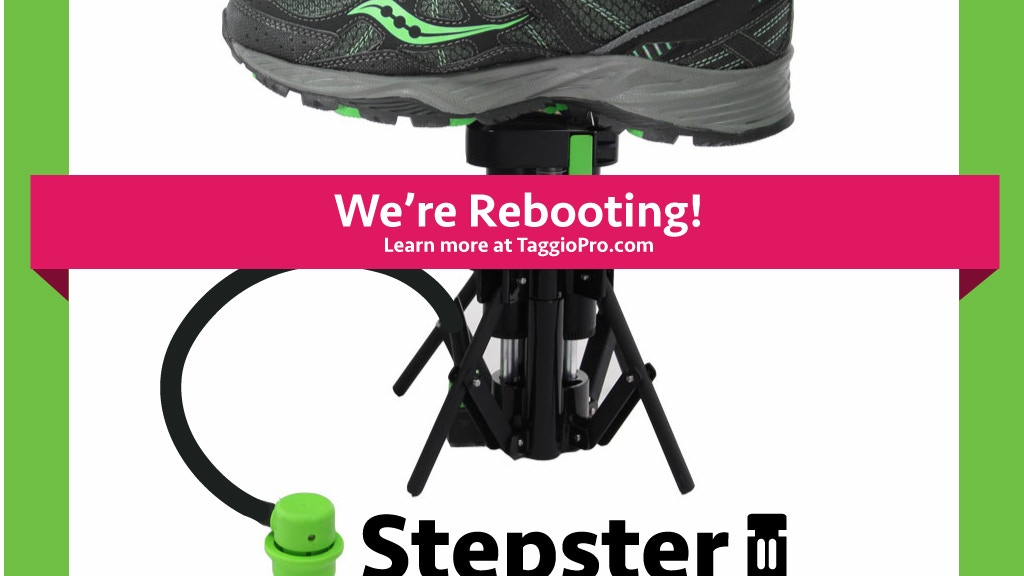 Project image for Taggio Pro Stepster -The Super Portable Foot Pump For Tires
