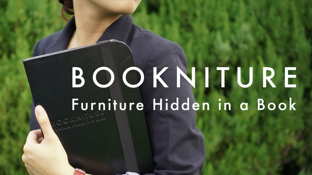 BOOKNITURE- Furniture Hidden in a Book project video thumbnail