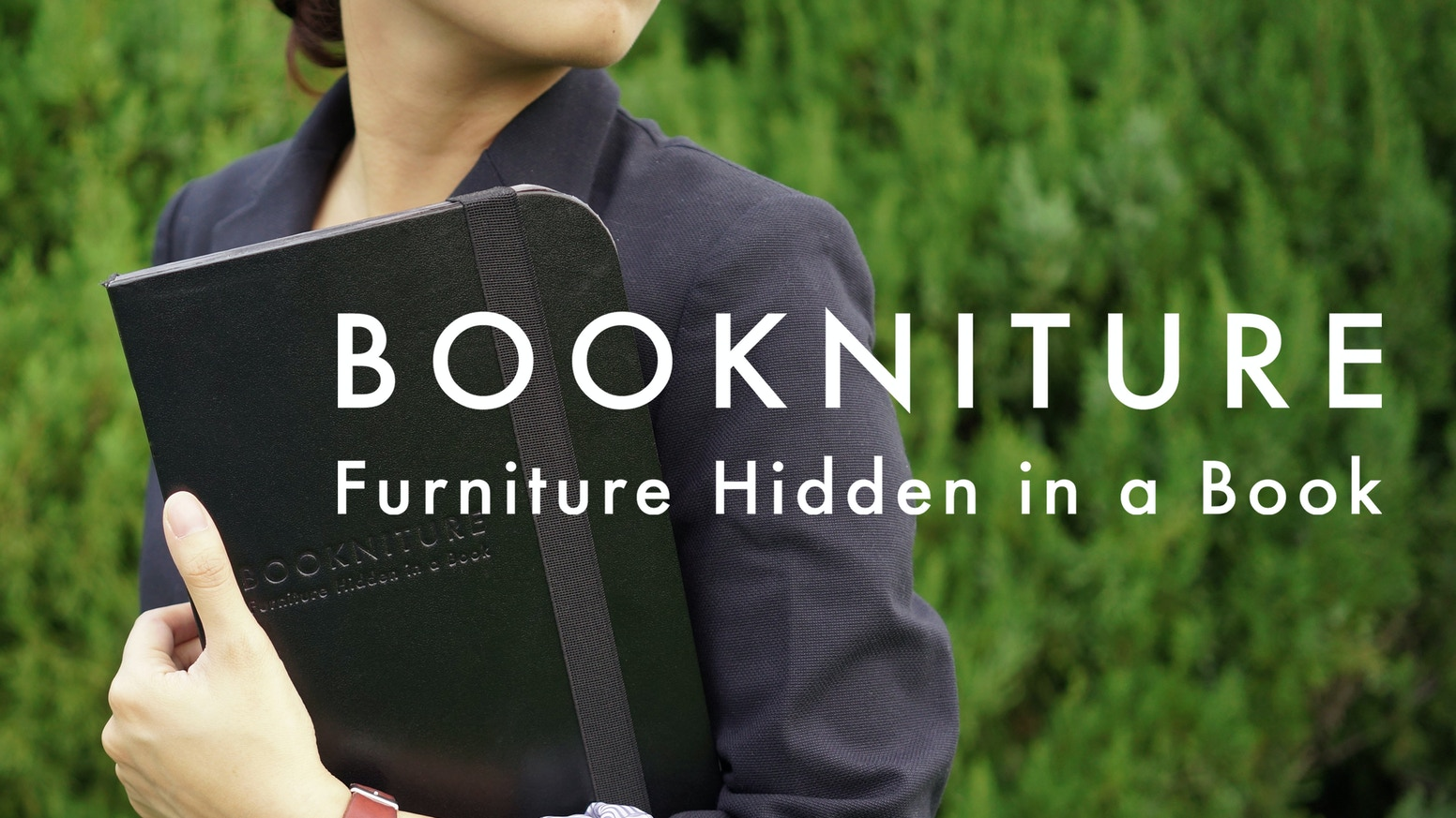 BOOKNITURE unfolds from a book to a multifunctional furniture.  In just a flip, you will never run out of tables and seats.