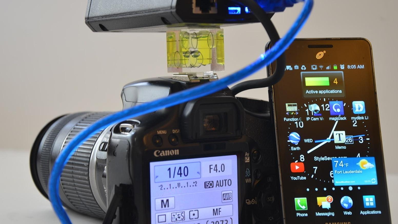 CamsFormer Next Gen DSLR Tether,High Speed Trigger,PTZ by Clive