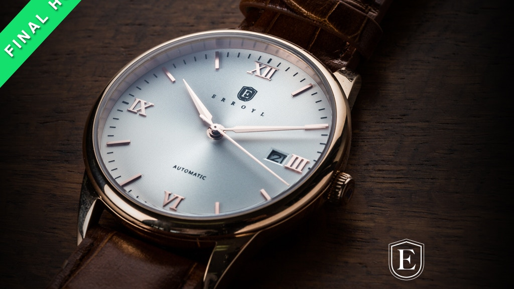 ERROYL - Elegant and Enduring Watches project video thumbnail