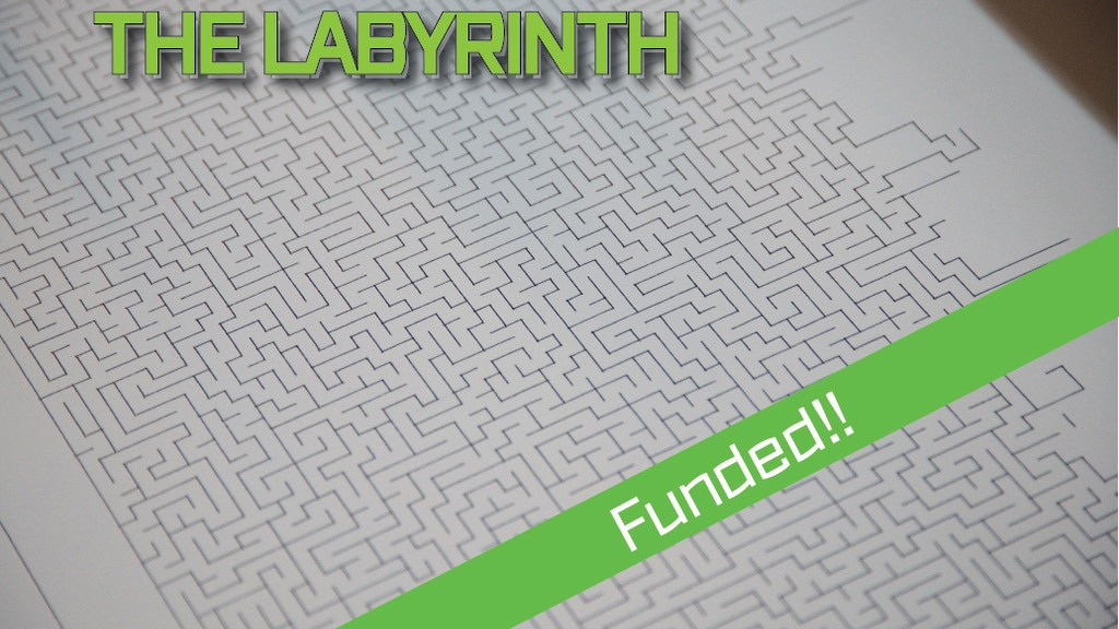 The Labyrinth, The world's largest pen drawn maze! project video thumbnail