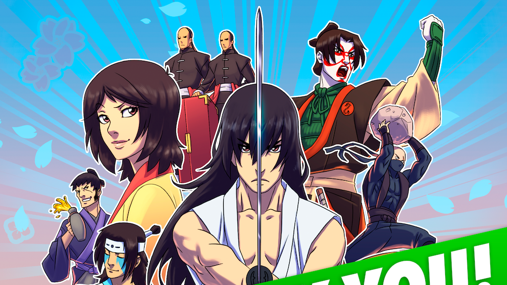 No Need for Bushido Vol. 2 - From Webcomic to Comic Book! project video thumbnail
