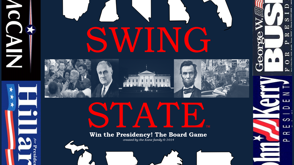 Swing State - Presidential Election Board Game project video thumbnail